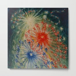 "Florine Stettheimer ""Fourth Of July"" Metal Print"