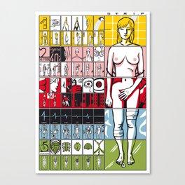STRIP Canvas Print
