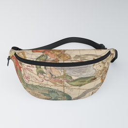 Star Atlas Vintage Constellation Map Ignace Gaston Pardies Fanny Pack