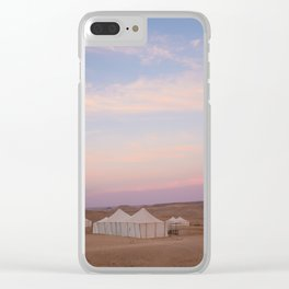 Glamping Clear iPhone Case