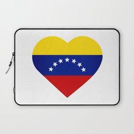 Venezuelan heart - Corazon Venezolano Laptop Sleeve