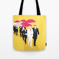 gatsby Tote Bags featuring Gatsby by Fräulein Fisher