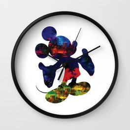 A dream is never too big - Mickey mouse Wall Clock