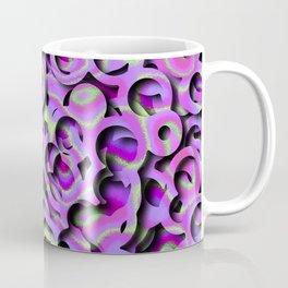 Tie-Dye Hole-Punch Offal Coffee Mug