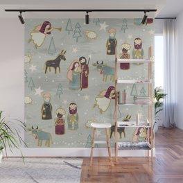 Nativity - the Birth of Jesus Wall Mural