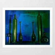 glass is green Art Print