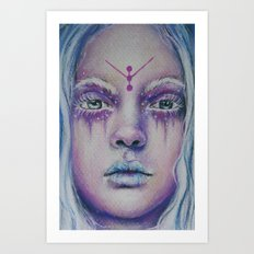 Starlight Witch Art Print