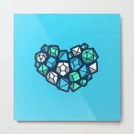 Heart of a Dungeon Master Metal Print