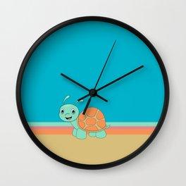 Meet Brysk the turtle Wall Clock