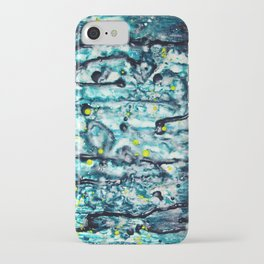 Gooey Space Station iPhone Case