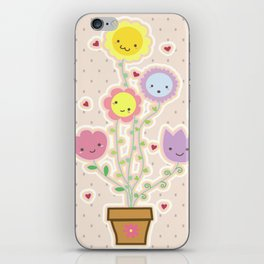 Flowery iPhone Skin
