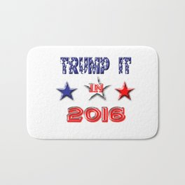 Trump It 2016 Bath Mat