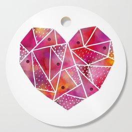 mosaic heart Cutting Board