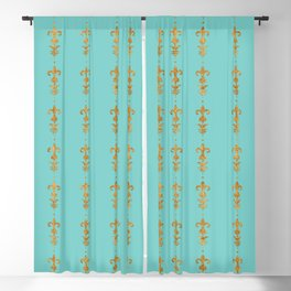 Edwardian Duck egg Blackout Curtain