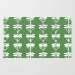 Glade Green Arts and Crafts Dragonflies Rug