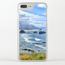 The Quintessential Oregon Coast Clear iPhone Case
