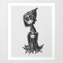 Grim Morning Art Print