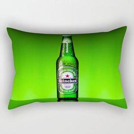 Ice cold Heineken Rectangular Pillow