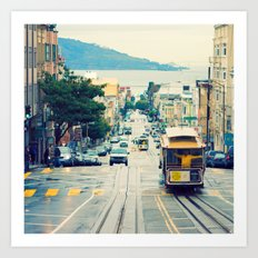 San Francisco Cable Car Art Print