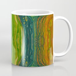The Excavation of a Luminous Chamber (Enchanted Chemical Abyss) (Reflection) Coffee Mug