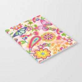 Butterflies and Fowers Notebook