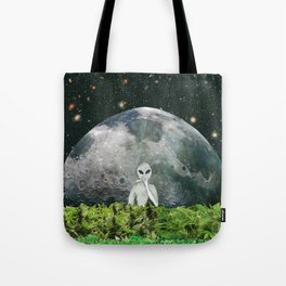 Moon Flower Tote Bag