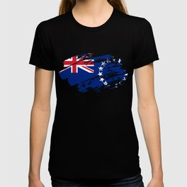 Cook Islands Flag Shirt T-shirt