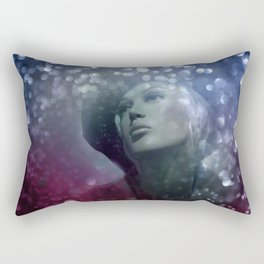 emerging from the shadow -1- Rectangular Pillow
