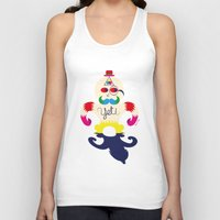yeti Tank Tops featuring Yeti by Lucy Irving