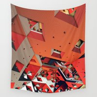 physics Wall Tapestries featuring Madhouse by Lyle Hatch