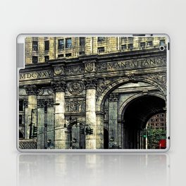 Classic New York Building Laptop & iPad Skin