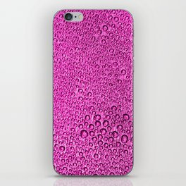 Water Condensation 05 Purple iPhone Skin