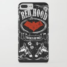 RED HOOD  label whiskey style iPhone 7 Plus Slim Case