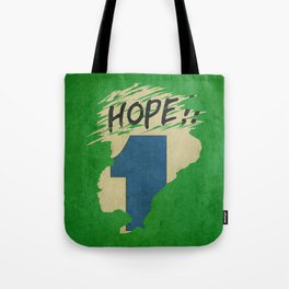 Hope!! (time machine ) Tote Bag