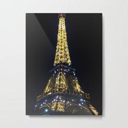 Twinkling Tower Metal Print