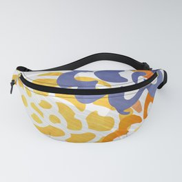 Bright Nature Abstract Fanny Pack