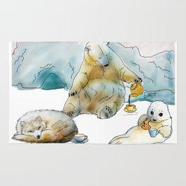 Polar Tea Party Rug