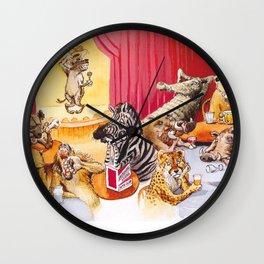laughing hyena Wall Clock