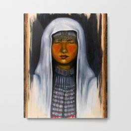 Hazara Girl Metal Print