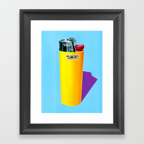Bic. Framed Art Print