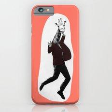 Giraffe in a Suit by Debbie Porter iPhone 6s Slim Case