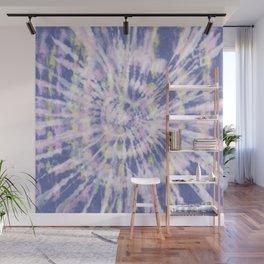 Indigo Tie-Dye Wall Mural