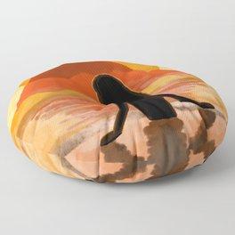 Sunset Onsen Floor Pillow
