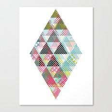DIAMOND TWO Canvas Print
