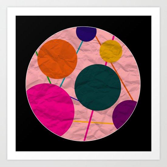 Only a Paper Moon Art Print