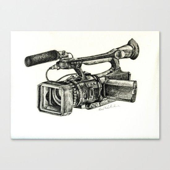 Sony HVR-V1U Canvas Print