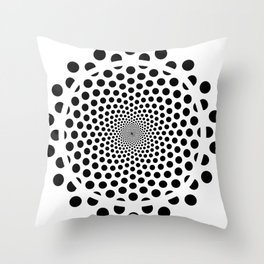 Cirlce  Throw Pillow