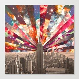 Superstar New York Canvas Print