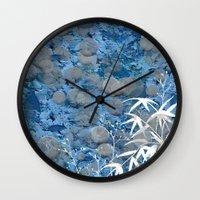zen Wall Clocks featuring Zen by dominiquelandau