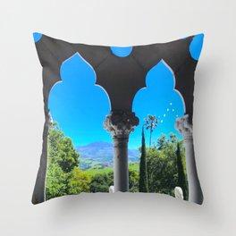 Moroccan Arches Throw Pillow